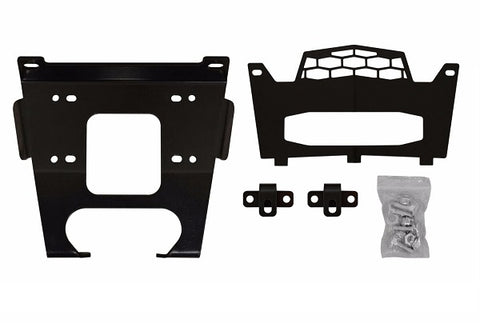 SuperATV Winch Mounts for 2016 Polaris RZR XP Turbo