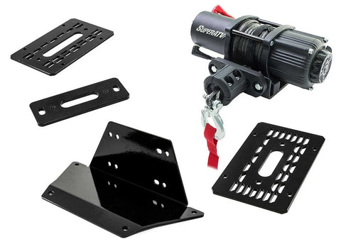 SuperATV Polaris Ranger 570 Winch Winch Mount Ranger 570 XP