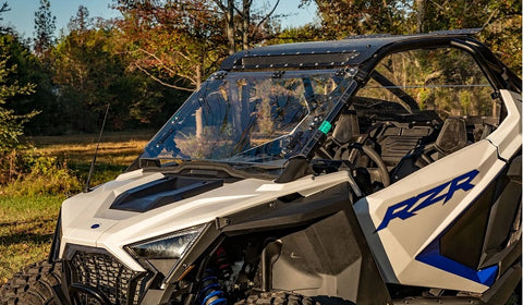 SuperATV Polaris RZR Pro XP Flip Up Windshield Scratch Resistant