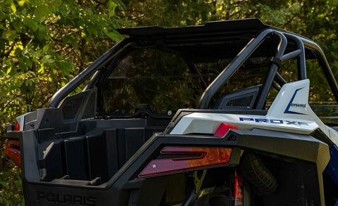 SuperATV Polaris RZR Pro XP Rear Tinted Windshield