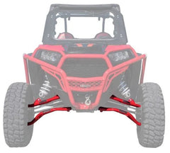 SuperATV Polaris RZR XP Turbo High Clearance 2 Inch Forward Offset A-Arms