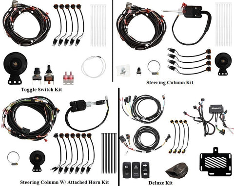 SuperATV Polaris RZR XP 1000 Turn Signal and Horn Kits