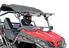 SuperATV CFMoto ZForce 500 Flip Up Full Windshield
