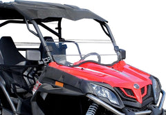 SuperATV CFMoto ZForce 500 Half Windshield