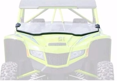 SuperATV Tracker XTR 1000 Half Windshield