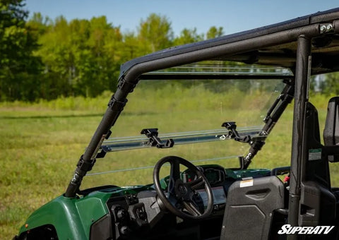 SuperATV Yamaha Viking Scratch Resistant Flip Up Windshield
