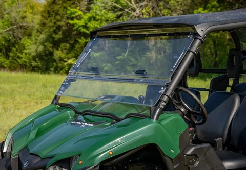 Yamaha Viking Scratch Resistant Flip Up Full Windshield