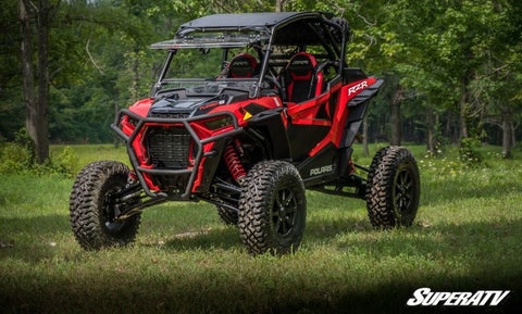 SuperATV Polaris RZR 4 Turbo S Flip Up Full Windshield
