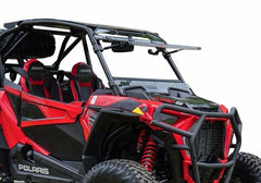 SuperATV Polaris RZR Turbo S Flip Up Full Windshield