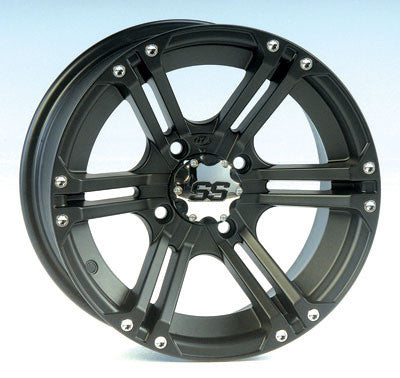 ITP SS212 Black ATV UTV Wheels 12x7 14x6 14x8