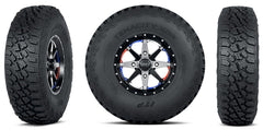 ITP Tenacity Tire and Wheel Kits Mounted on Cyclones
