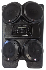 Drive Unlimited The Wedge 4 Speaker UTV Stereo Kit