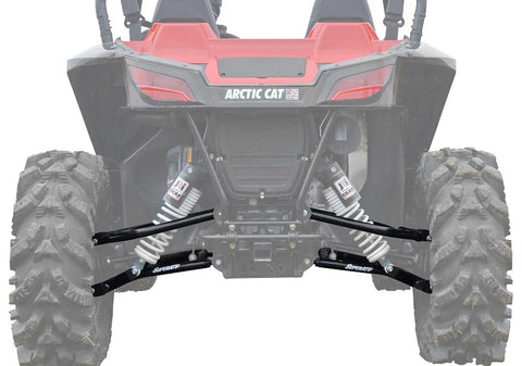 SuperATV Arctic Cat Wildcat Sport High Clearance Rear A Arms