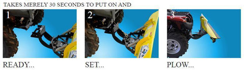 Eagle Gen 2 Snow Plow Kits for ATV Models