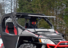 SuperATV Arctic Cat Wildcat Scratch Resistant Flip Up Full Windshield