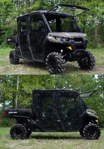 SuperATV Can Am Defender Max Full Cab Enclosure Doors