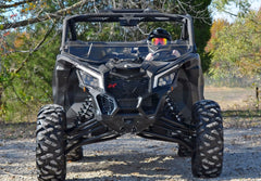 SuperATV Can Am Maverick X3 Half Windshield