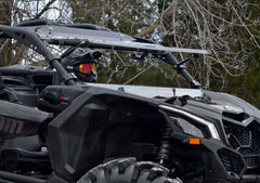 SuperATV Can Am Maverick X3 Flip Up Full Windshield
