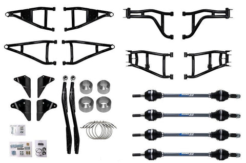 SuperATV Can Am Defender Max Lonestar 6 Inch Lift Kit