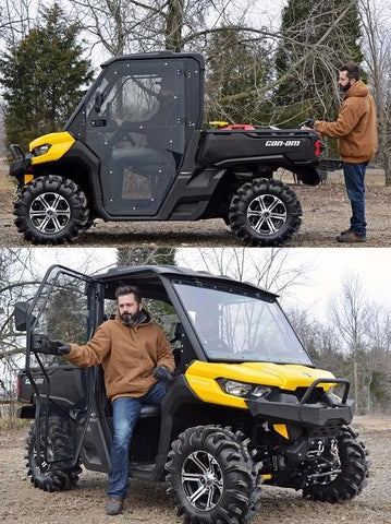 SuperATV Can Am Defender Cab Enclosure Doors