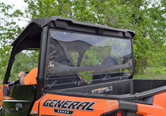 SuperATV Polaris General Rear Windshield - Clear