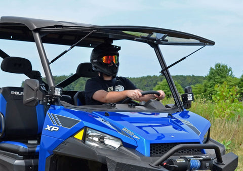SuperATV Polaris Ranger 900 Full Flip Windshields