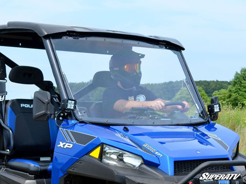 SuperATV Polaris Ranger 570 Full Flip Windshields