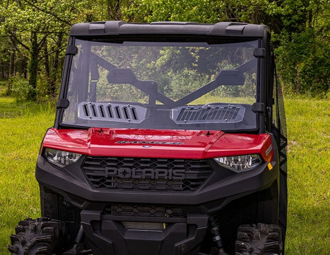 SuperATV Polaris Ranger 900 Full Vented Windshields