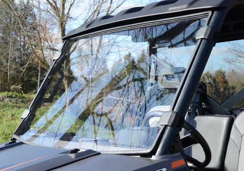 SuperATV Polaris Ranger XP 1000 Crew Full Windshields