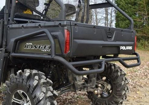 SuperATV Rear Bumper Side Bed Guards Polaris Ranger 570 XP Full Size