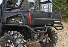 SuperATV Rear Bumper Side Bed Guards Polaris Ranger 1000 XP