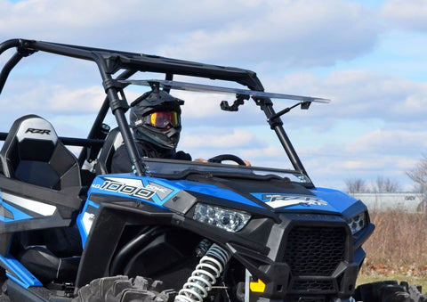 SuperATV 2014-18 Polaris RZR XP1000 Flip Windshield