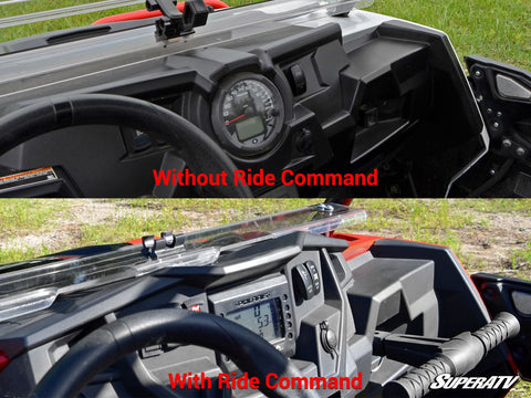 SuperATV Polaris RZR XP1000 Flip Windshield