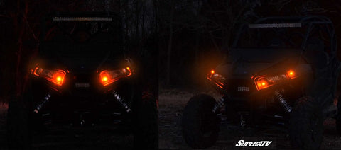 SuperATV Polaris RZR 800-S Turn Signal and Horn Kits