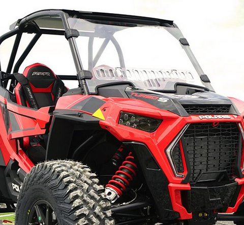 Over Armour Vented Windshield Polaris RZR Turbo S