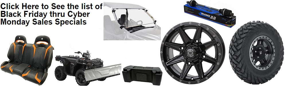 ATV UTV Tires, ATV UTV Wheels, Lift Kits and More!