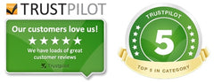 Check out our review rating on Trustpilot