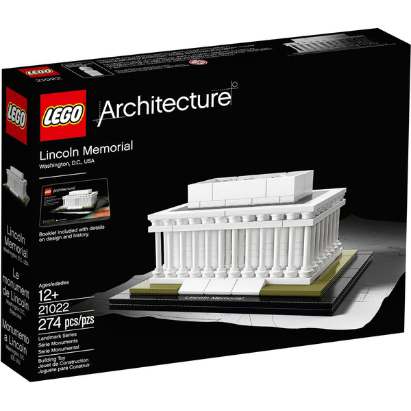 Lego 21022 - Architecture Lincoln Memorial
