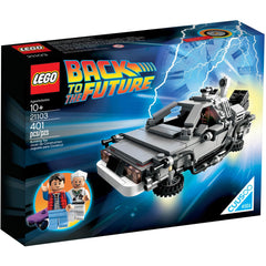 Lego 21103 Cuusoo/Ideas The DeLorean Time Machine