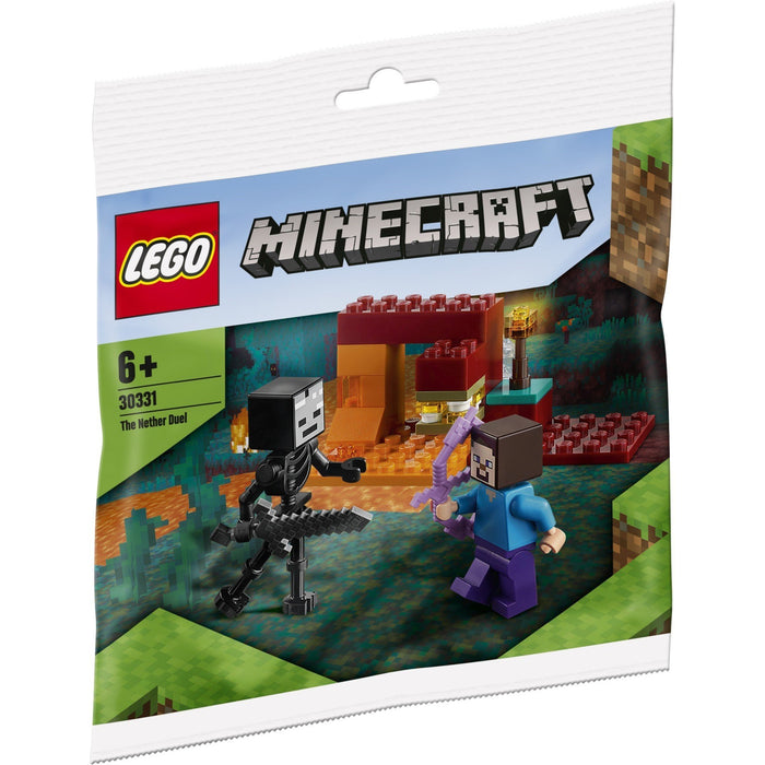 LEGO 30331 Minecraft The Nether Duel Polybag