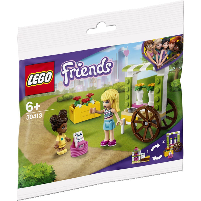 LEGO 30413 Friends Flower Cart Polybag with 2 Minifigures