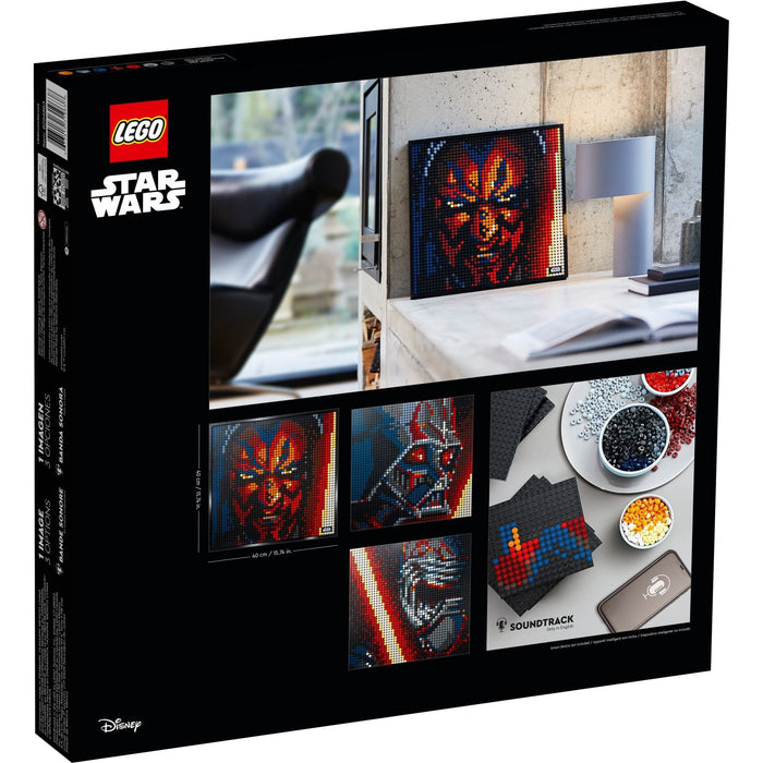LEGO Art 31200 Star Wars The Sith Mosaic Wall Art