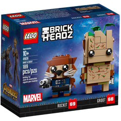 Lego 41626 - Brickheadz Groot & Rocket (Numbers 68 & 69)