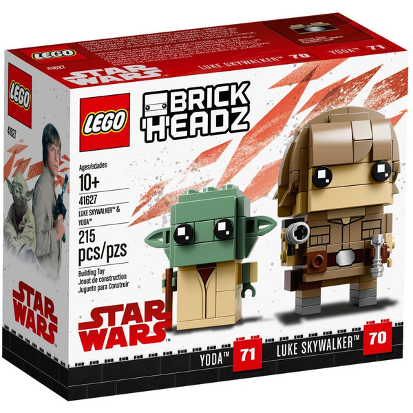 Lego 41627 Brickheadz - Star Wars Luke Skywalker & Yoda (Number 70 & 71)