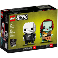 Lego 41630 - Brickheadz Jack Skellington & Sally (Numbers 74 & 75)