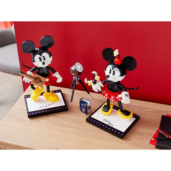 LEGO 43179 Disney Buildable Mickey Mouse & Minnie Mouse