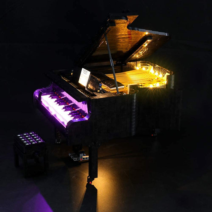 Briksmax LED Light Set for LEGO 21323 Grand Piano