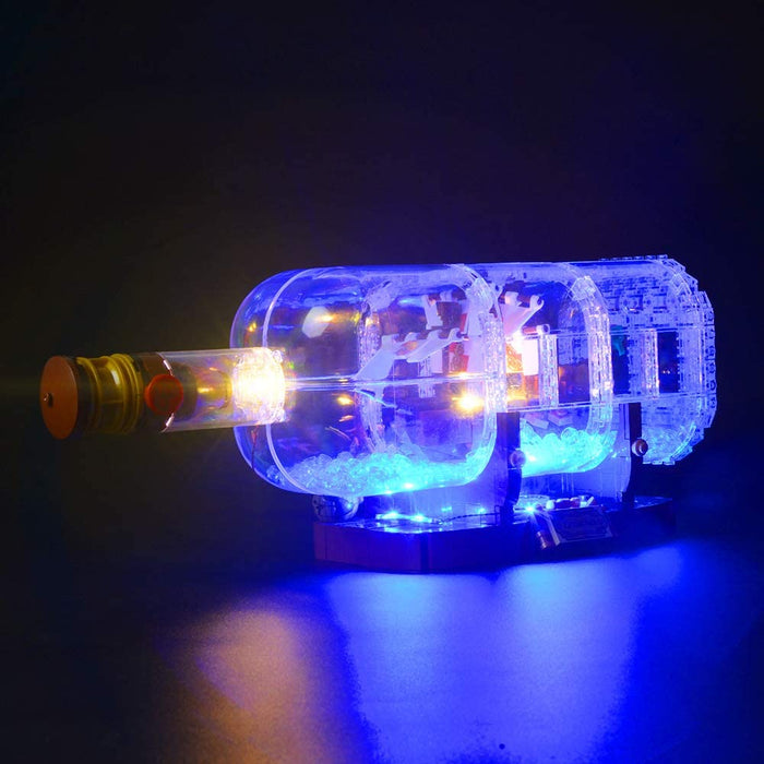Briksmax LED Light set for LEGO Ideas 21313 Ship in a Bottle