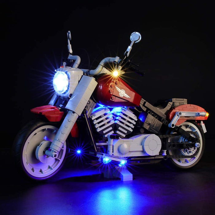 Briksmax LED Lighting Kit for LEGO Creator Expert 10269 Harley Davidson