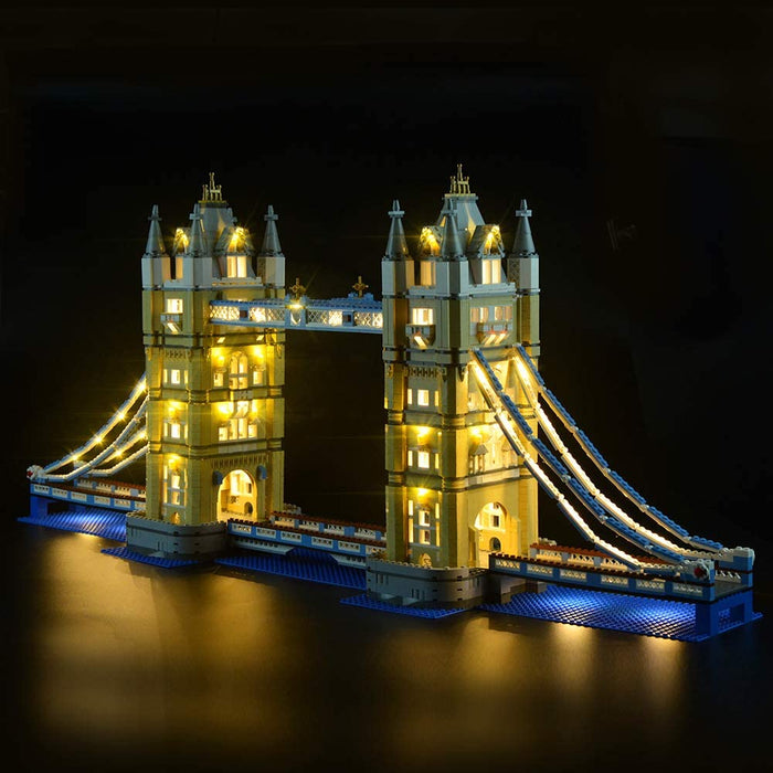 LED Lighting set for LEGO Creator 10214 Tower Bridge by Lightailing